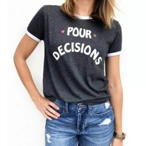 NWT Wildfox Pour Decisions johnny ringer tee